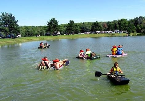Campers Haven Paddleboats on the Pond