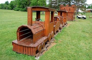 Campers Haven Playground Train