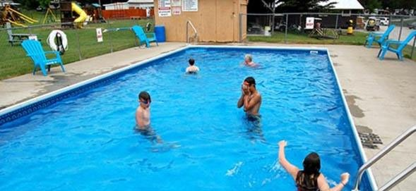 Campers Haven Swimming Pool